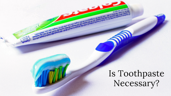 is toothpaste necessary Michael Sinkin DDS