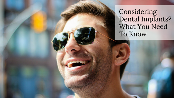 Considering Dental Implants? What You Need To Know Michael Sinkin DDS